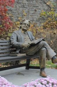 NF Northrop Frye Statue
