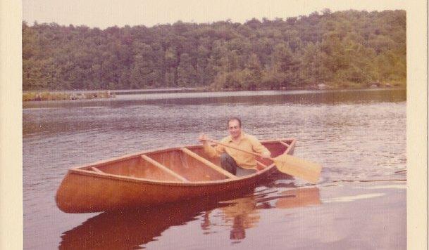 Plywood Canoe Concept - Birchbark Style