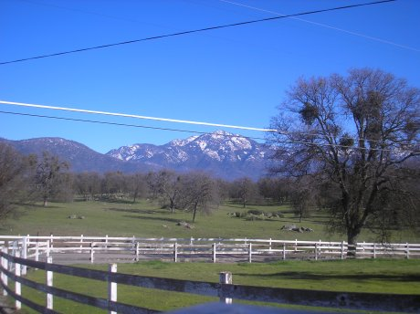 Visiting the ranch of friends in the Sierras. Now you know where Windows got its desktop picture.