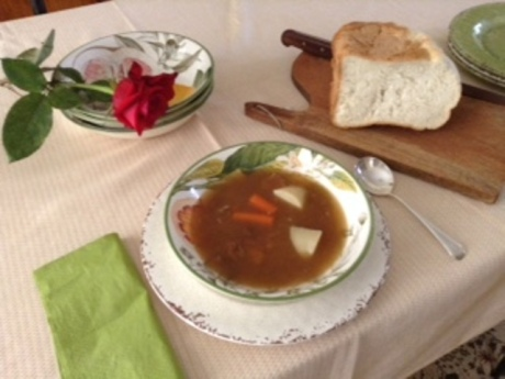 Farewell Meal: the Last of 20 Servings of Classic Ham & Bean Soup